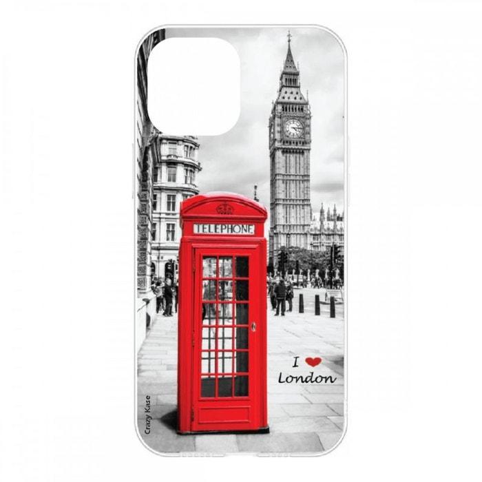 Coque pour iPhone 12 Mini (5,4) souple I love London