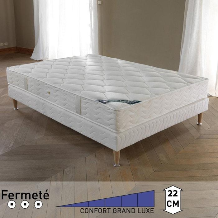 Image Matelas ressorts ensachés, grand confort ferme 5 zones, anallergique, spécial dos sensible, haut. 22 REVERIE