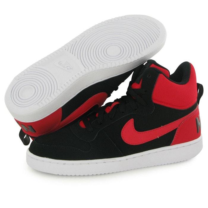 Nike Short Borough Mid Black Man Sneakers