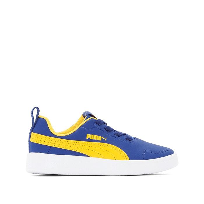 24baad088a Sapatilhas ps courtflex azul amarelo Puma