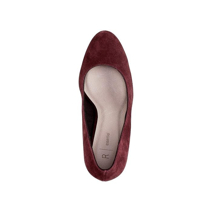 La con ancho 243;n piel Collections de tac Redoute Zapatos fqRxT7rwf1