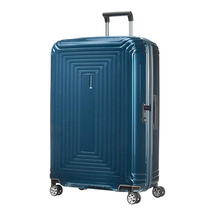 Valise rigide Samsonite Neopulse 75 cm - 4 roues Metallic Blue bleu nApO7h9i6
