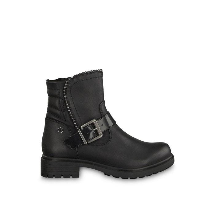 Tamaris hélios Redoute noir Boots La motardes 7at4q4