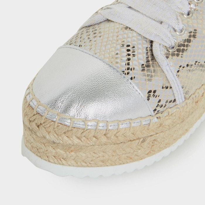 Baskets à semelle plateforme façon espadrille - favour Dune London