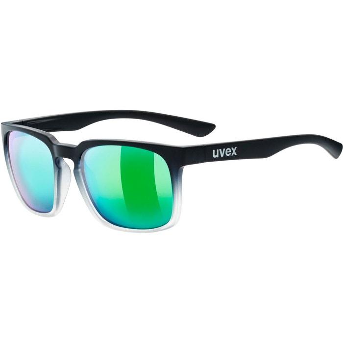 Uvex LGL 35 Colorvision Lunettes de soleil Noir/Vert YK68UV