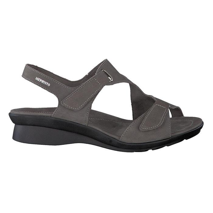 Mephisto Sandales PARIS Rouge - Livraison Gratuite avec  - Chaussures Sandale Femme