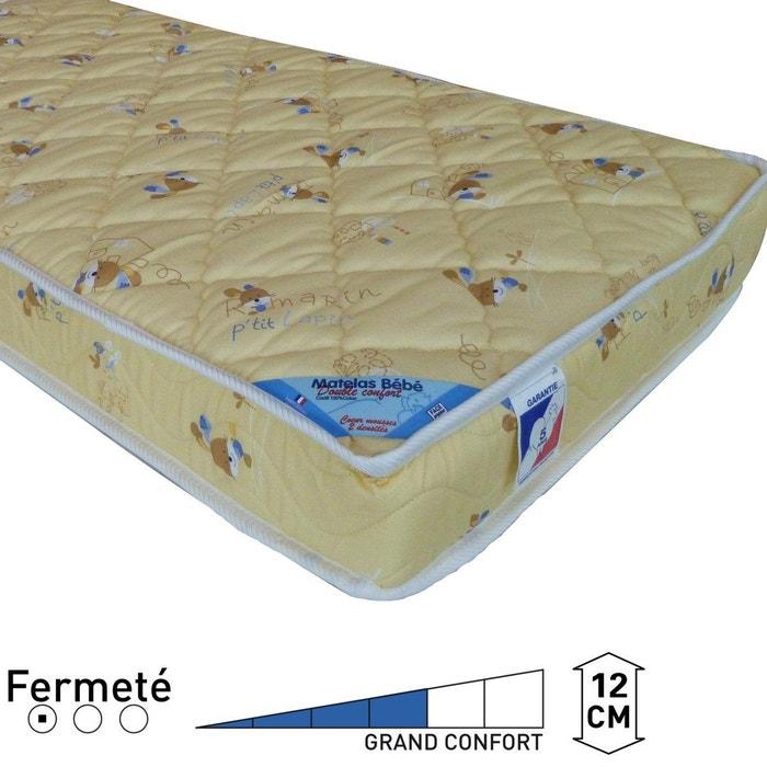 matelas double confort b b jaune imprim la redoute interieurs la redoute. Black Bedroom Furniture Sets. Home Design Ideas