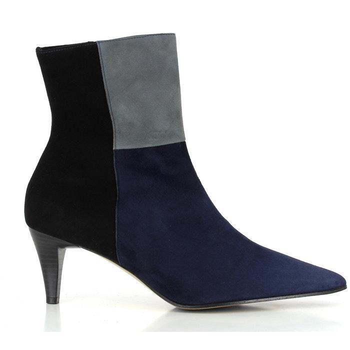 Image RIMINI Heeled Leather Boots ELIZABETH STUART