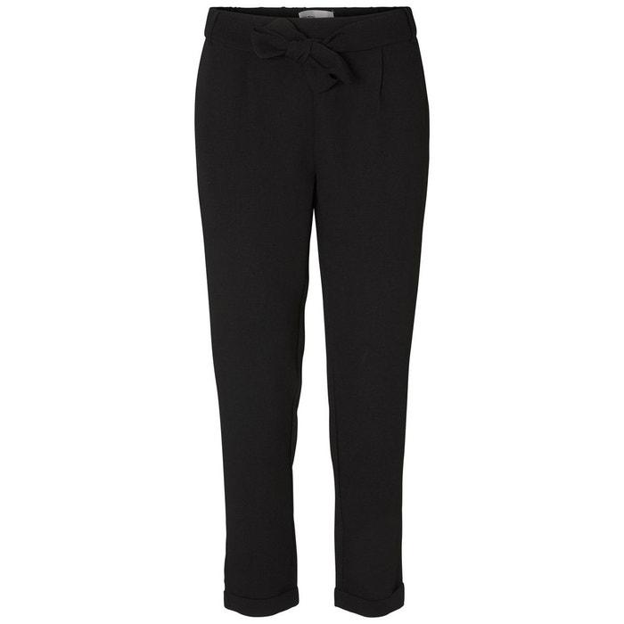 pantalon cheville black vero moda la redoute. Black Bedroom Furniture Sets. Home Design Ideas