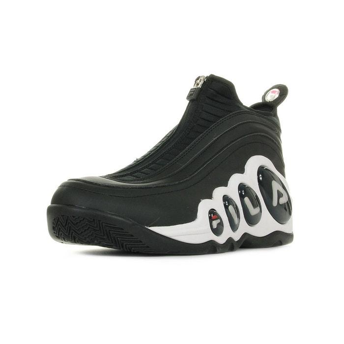 Baskets homme bubbles zip noir/blanc Fila