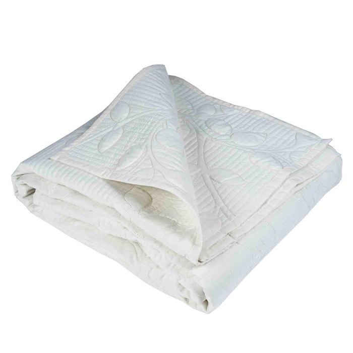 Couvre lit matelass polyester origine cru cru madura la redoute - Couvre lit matelasse la redoute ...