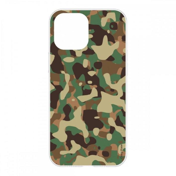 Coque pour iPhone 12 Pro Max (6,7) souple Camouflage militaire