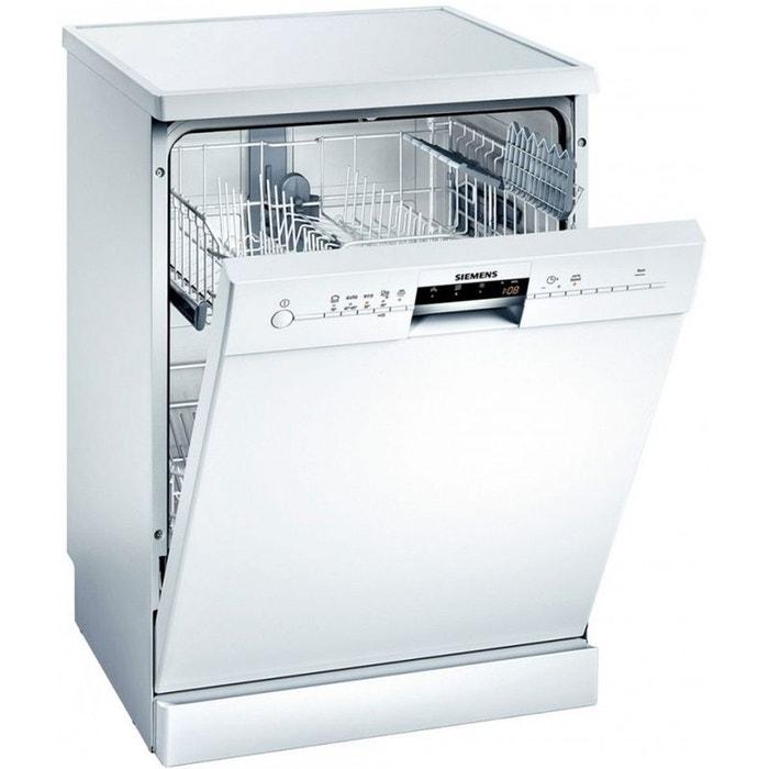 siemens lave vaisselle sn25m205ep blanc siemens la redoute. Black Bedroom Furniture Sets. Home Design Ideas