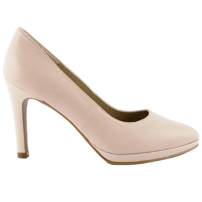 chaussures talons rubis rose p le exclusif paris la redoute. Black Bedroom Furniture Sets. Home Design Ideas