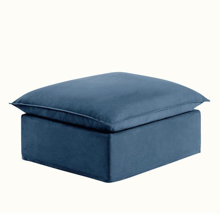 pouf d houssable bachette pur coton n lia la redoute interieurs la redoute. Black Bedroom Furniture Sets. Home Design Ideas