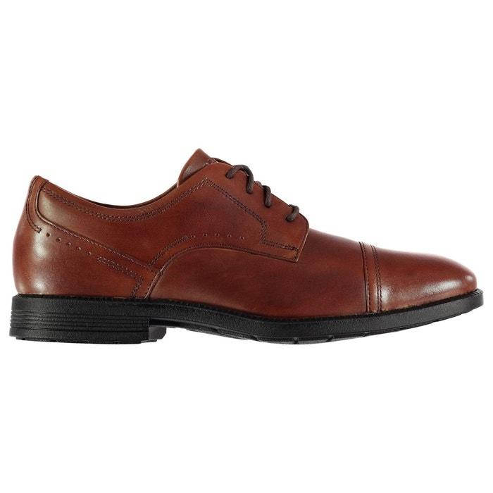 Derby chaussures habillées en cuir  new marron Rockport  La Redoute