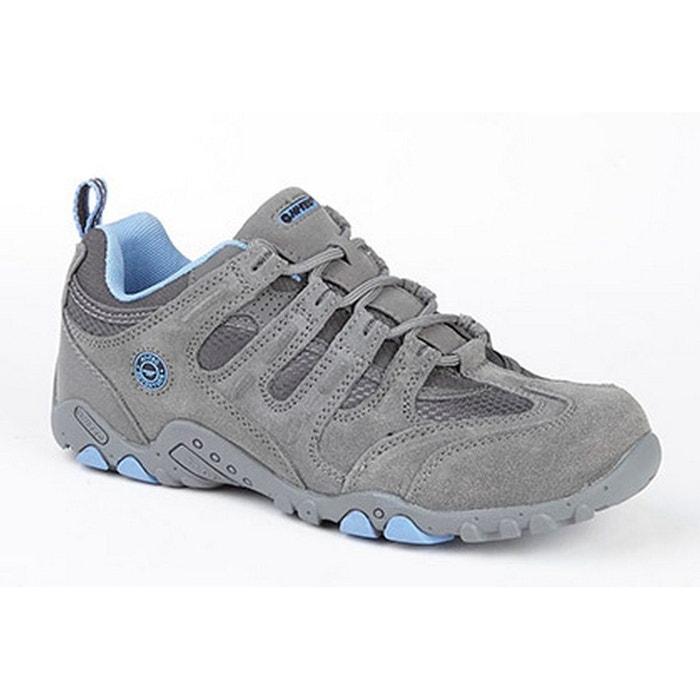 Hi  tec quadra baskets trail gris/gris foncé/bleu Hi-Tec
