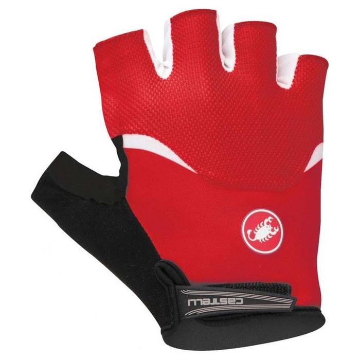 Gants courts castelli arenberg gel gloves rouge De Castelli | La Redoute 2018 Vente Pas Cher Vente Grande Remise Paiement Visa Rabais Réduction Très Pas Cher jKHCF