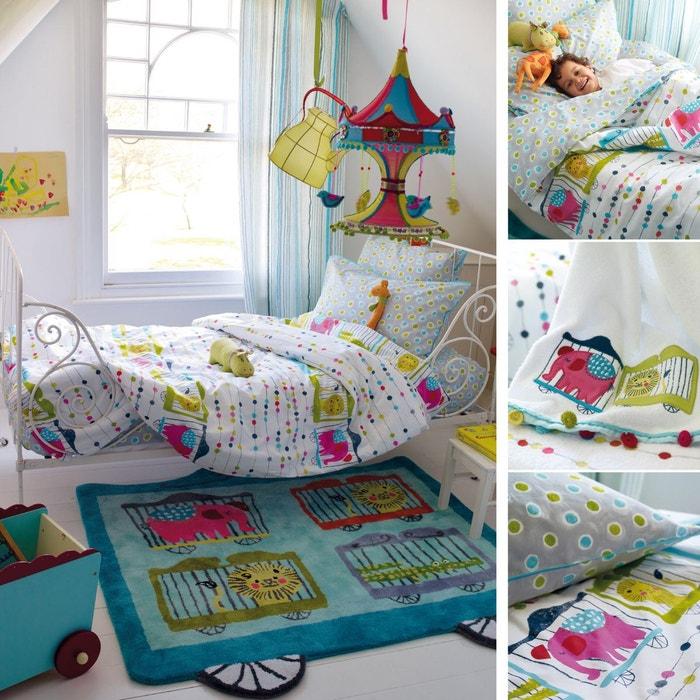 housse de couette circus parade en coton multicolore multicolore designers guild la redoute. Black Bedroom Furniture Sets. Home Design Ideas