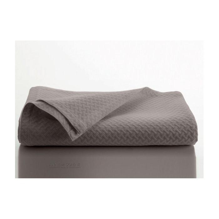 jet de lit safira marron anne de solene la redoute. Black Bedroom Furniture Sets. Home Design Ideas