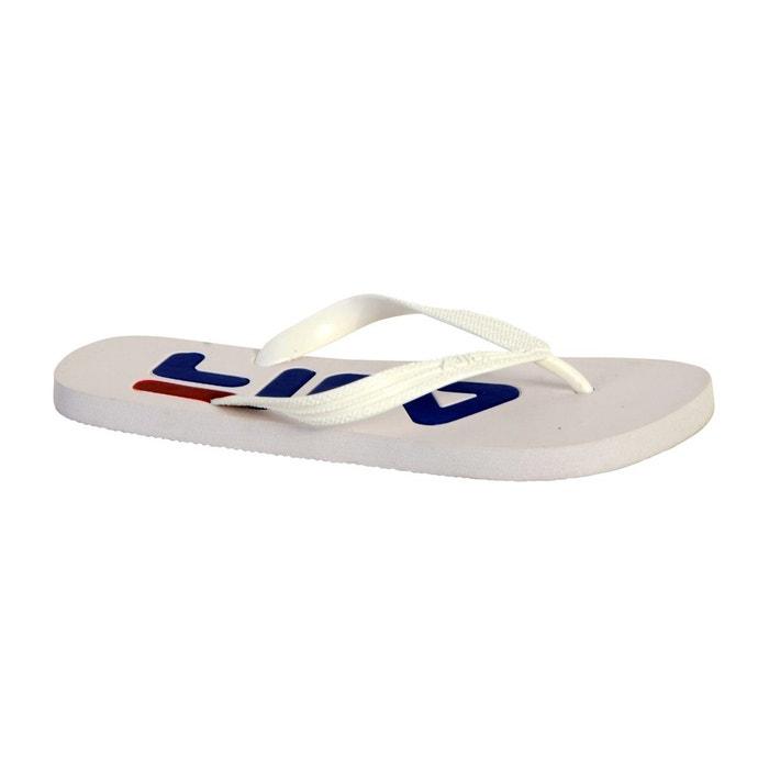 Tong fila troy slipper white blanc Fila