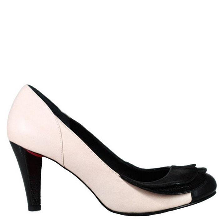 en cuir Chaussure femme CARAMEL PARIS PRING tqPv77