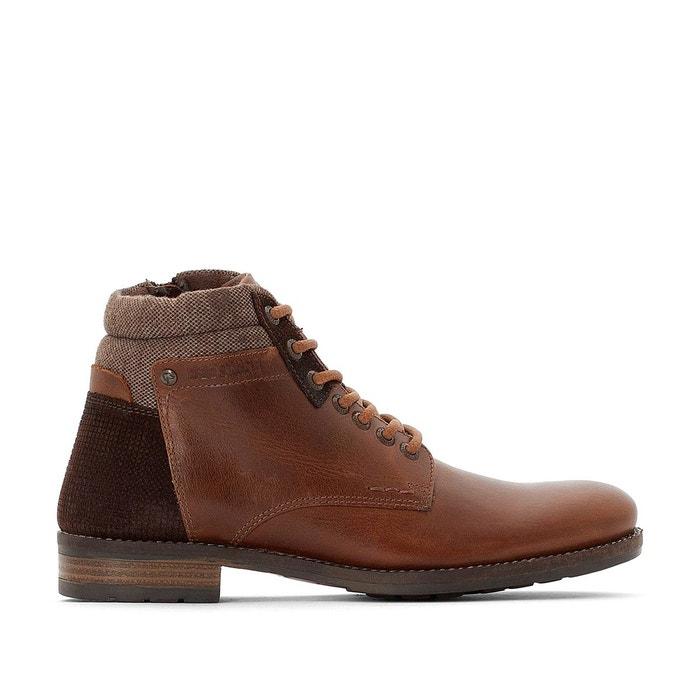 Boots cuir Pardon