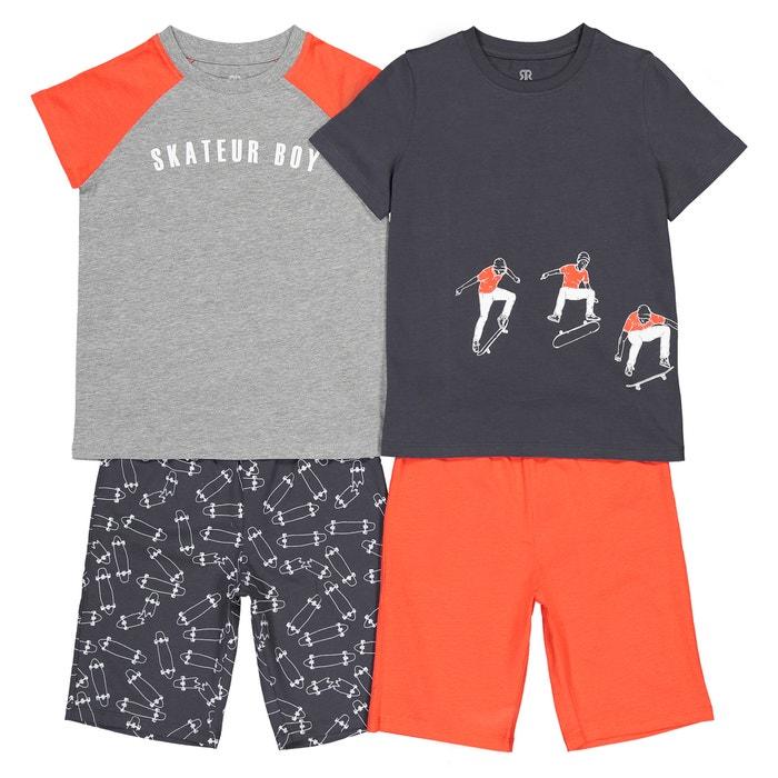 c96c0091c0a Pack of 2 skateboard theme pyjamas