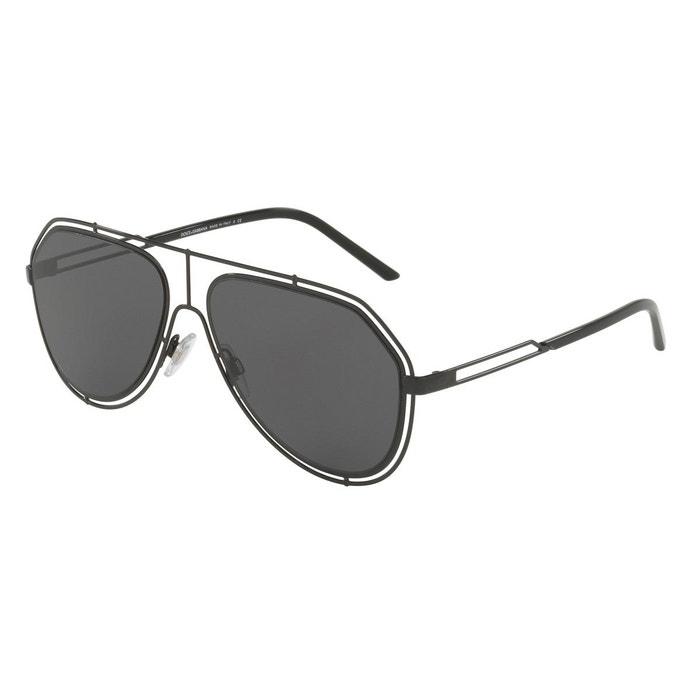 Lunettes de soleil dg2176 noir Dolce Gabbana   La Redoute 4f9ad4844f83