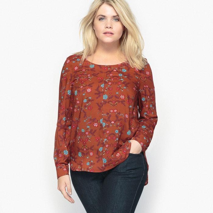 afbeelding Soepele blouse met bloemenprint CASTALUNA