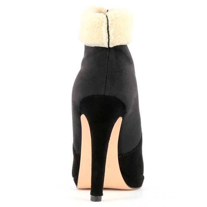 Bottines femme noir Evita