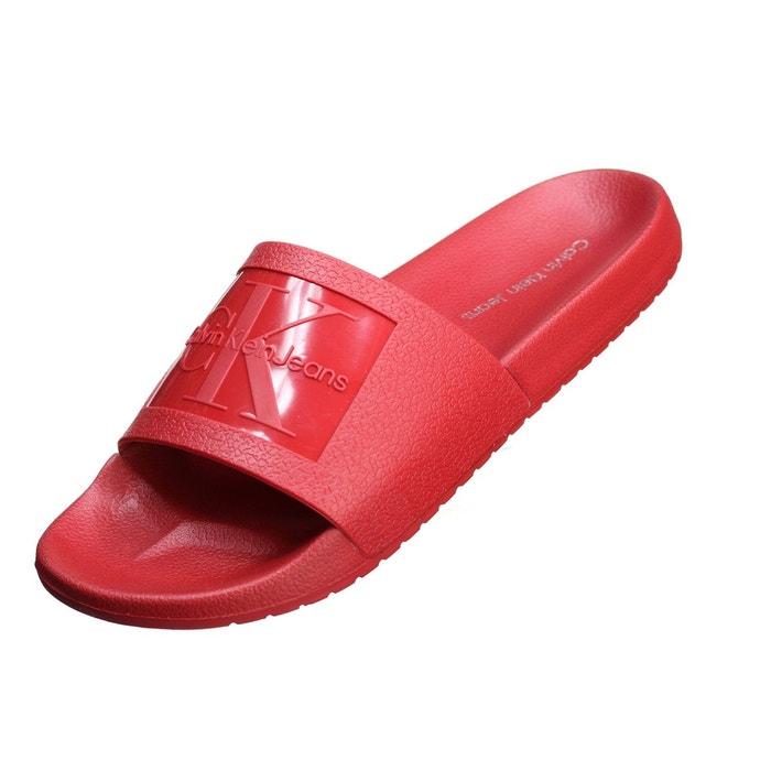 Mules vincenzo jelly  rouge Calvin Klein  La Redoute