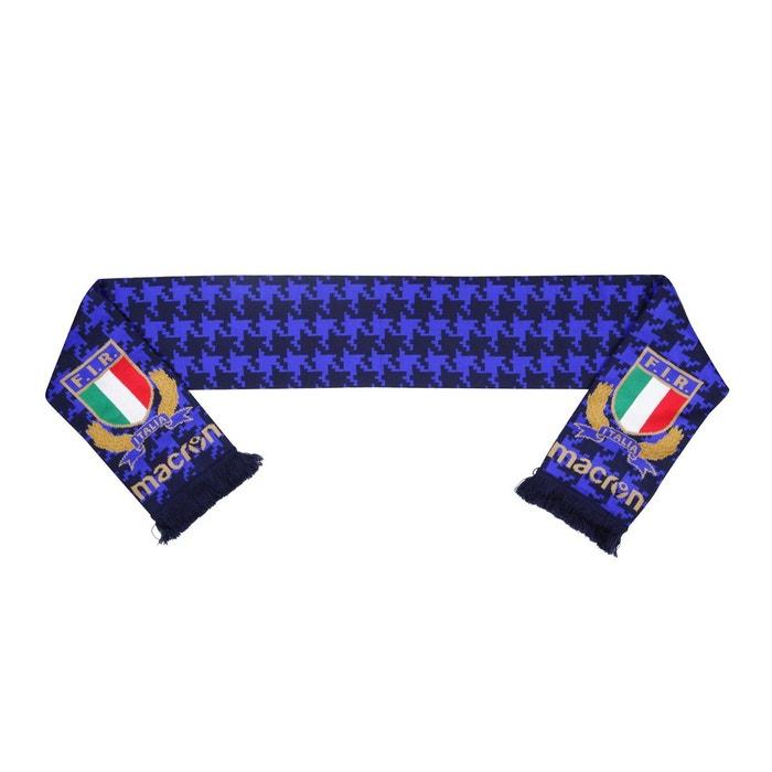 Echarpe italie rugby bleu bleu Macron   La Redoute 3458073b9e8