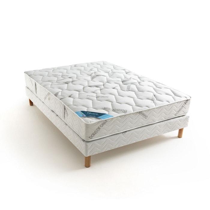 matelas ressorts ensach s confort prestige ferme 5 blanc gris reverie dos sensible la redoute. Black Bedroom Furniture Sets. Home Design Ideas