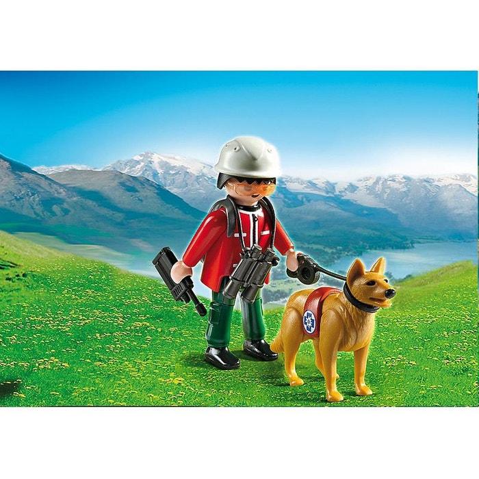 Sauveteur de montagne avec chien pla5431 couleur unique playmobil la redoute - La redoute playmobil ...