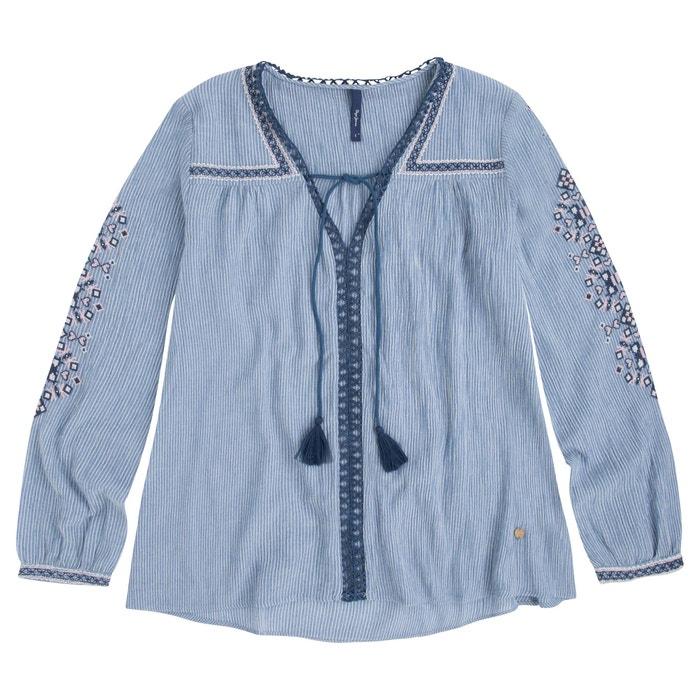 Блузки с вышивкой купить