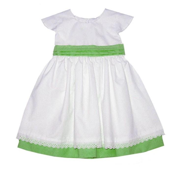 acheter populaire 694e1 860ed Robe baptême, cérémonie, mariage 0 mois-10 ans Made In France