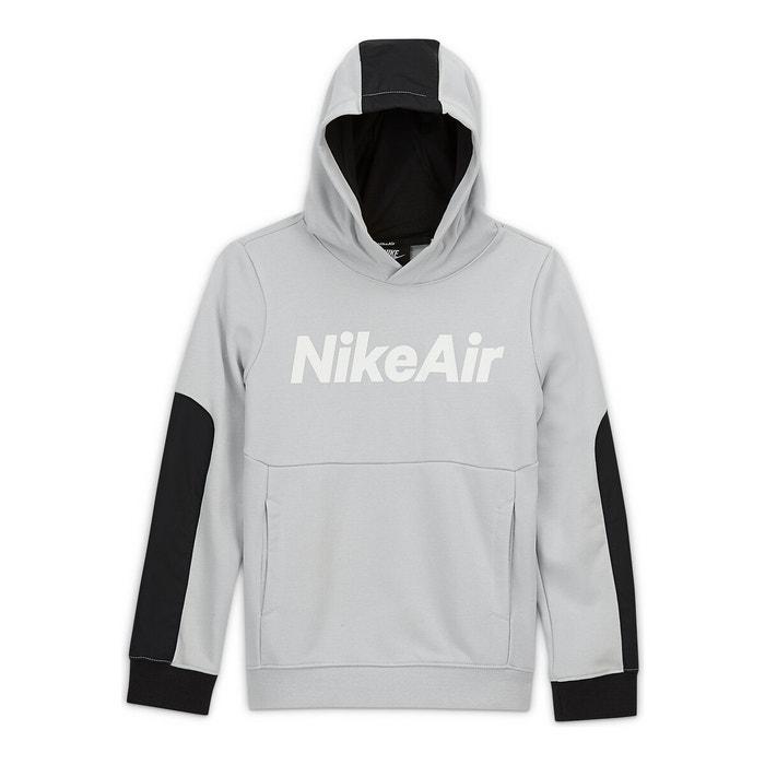 carga Independientemente darse cuenta  Sudadera con capucha nike air 6-16 años gris Nike | La Redoute
