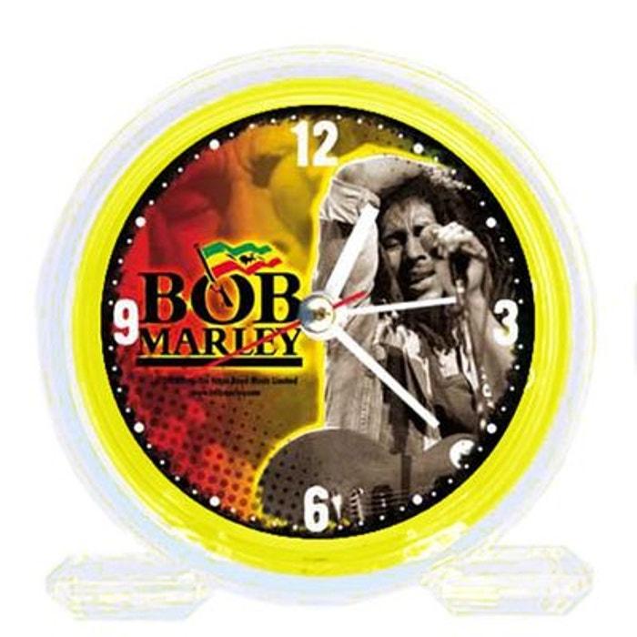 Réveil Pvc Bob Marley jaune SUD CARGO
