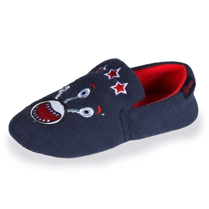 e72c3464842df Chaussons slippers garçon monstre marine Isotoner