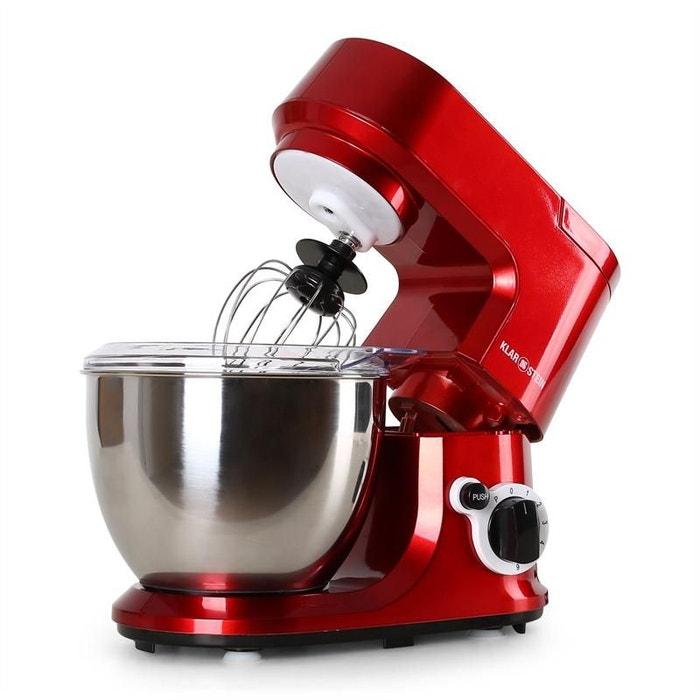 carina rossa robot de cuisine 800w 4 l autre klarstein la redoute. Black Bedroom Furniture Sets. Home Design Ideas