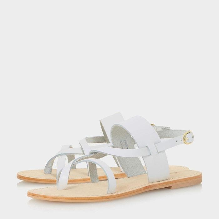 Sandales plates multibrides - luccia Dune London