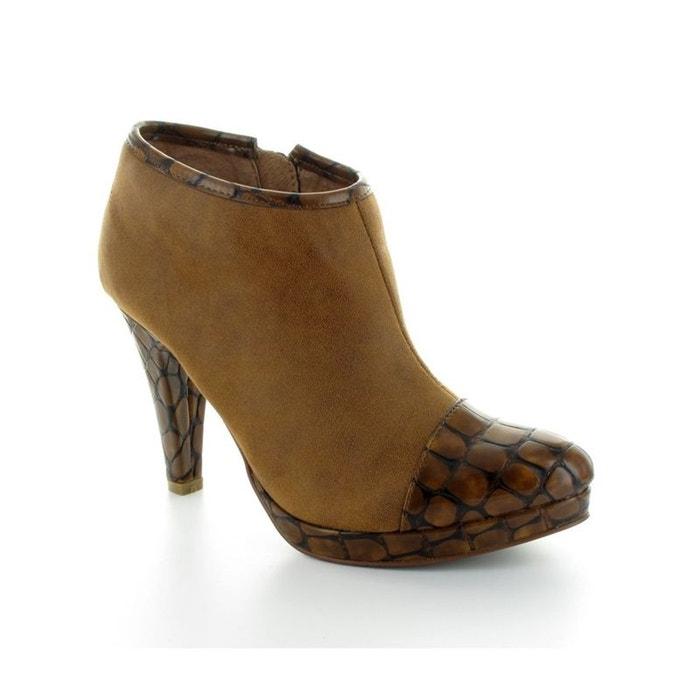 De Nouveaux Styles Low boots les p'tites bombes béatrix camel marron Lpb Woman Limite Offre Pas Cher Fourniture En Vente LhH5oKzSQg