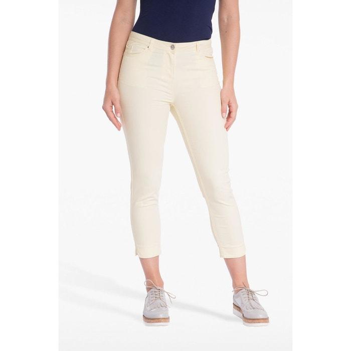 online retailer available huge discount Pantalon 7/8ème ajusté taille basculée