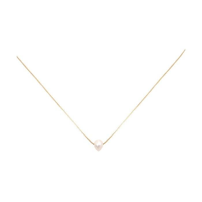 Collier doré perle d'eau douce blanche queen sea blanc Caroline Najman | La Redoute Pré Commande À Vendre 99HpU5pMeh