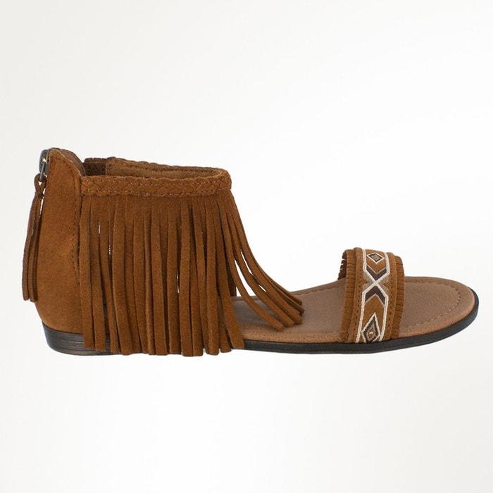 Sandales cuir MINNETONKA