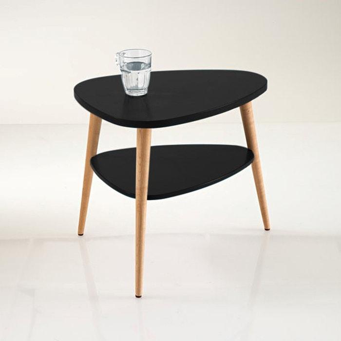 chevet vintage jimi noir la redoute interieurs la redoute. Black Bedroom Furniture Sets. Home Design Ideas