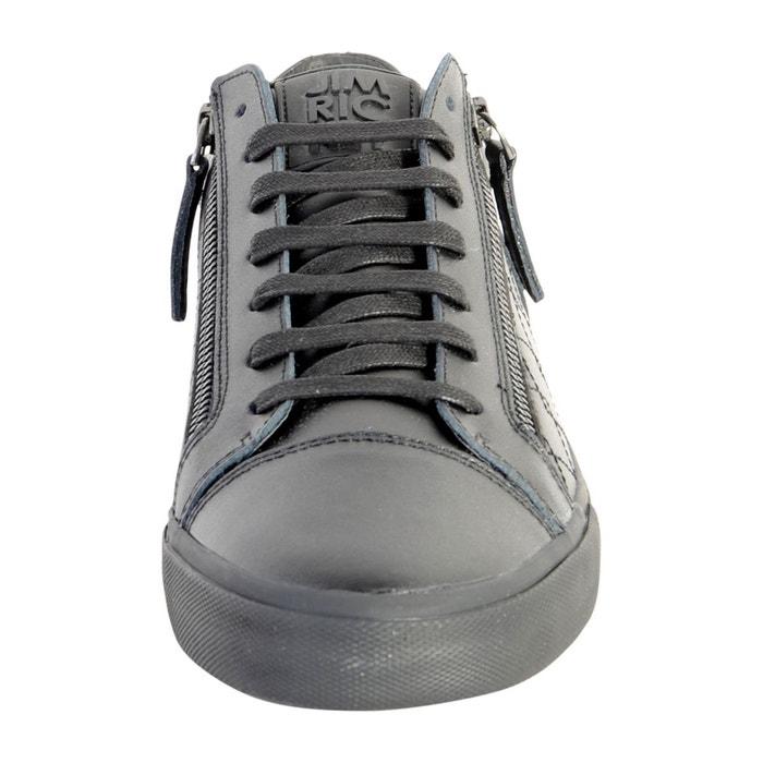 Chaussure zed black mono noir Jim Rickey