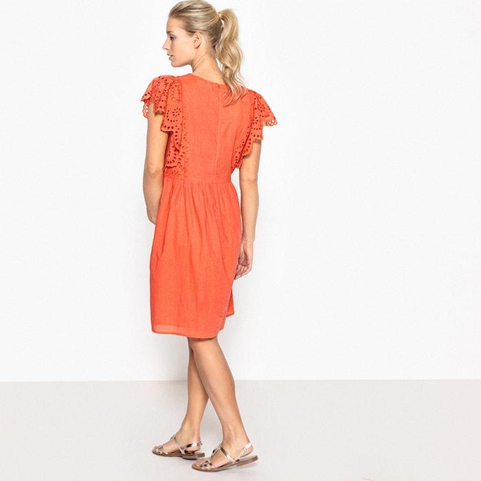 con Redoute embarazo de Collections delante La Vestido bordado wT78pqS