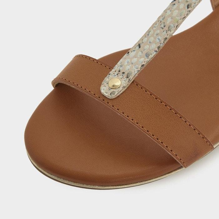 Sandales plates LONDON à DUNE croisées brides LADDER wq4P75C7